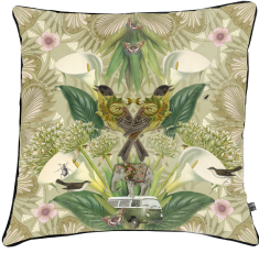velvet cushion, flowers,birds paradise, vintage car, combi WW