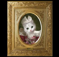 Cadre trompe l'oeil Mimi la Bretonne