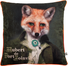 velvet cushion Hubert de Port Joinville