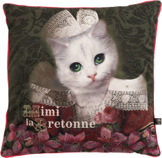 Coussin de canapé velours Mimi la Bretonne