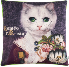 coussin velours Romeo l'Aristo