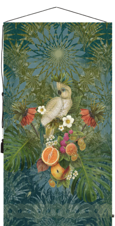 wall tapestry, birds, art deco, flowers,homedecor, decoration, livingroom