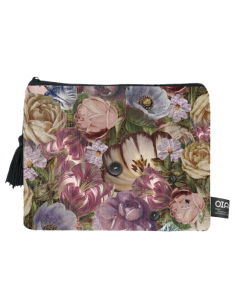 trousse maquillage fleurs all over