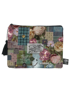 trousse maquillage kilt shabby chic